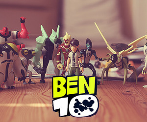 10, ben 10, and alien image