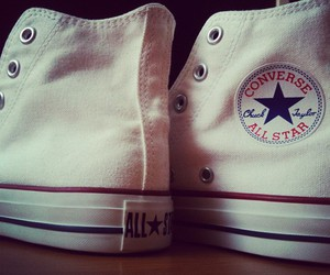 brand, converse, and white image