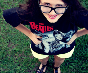 beatles, girl, and pretty image