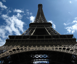 eiffel tower, travel, and paris image