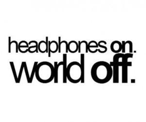 music, headphones, and world image