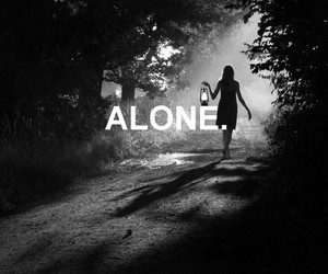 alone and loneliness image