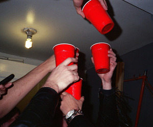 party, cup, and cheer image