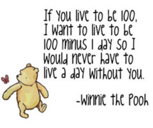 100, quote, and winnie the pooh image