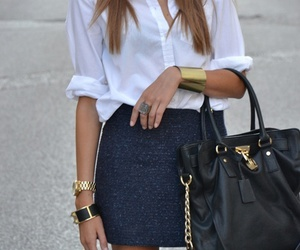 accesories, bag, and bracelet image