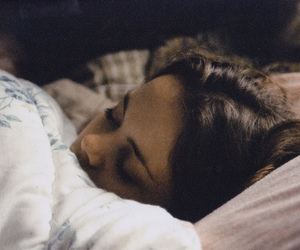 girl, sleep, and vintage image
