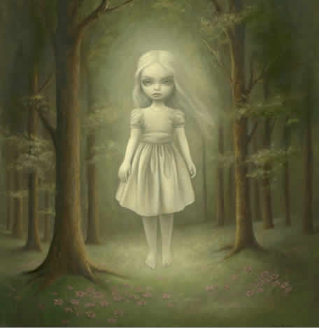 art, Mark Ryden, and ghost image