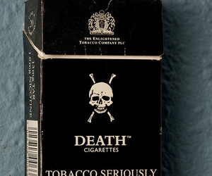 cigarette, death, and tobacco image