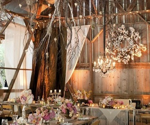 wedding and barn image