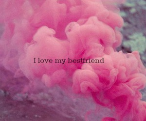 love, pink, and friends image