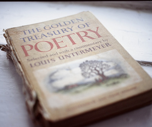 book, poetry, and vintage image