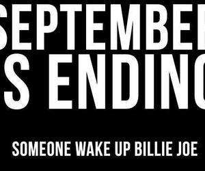 green day, billie joe, and September image