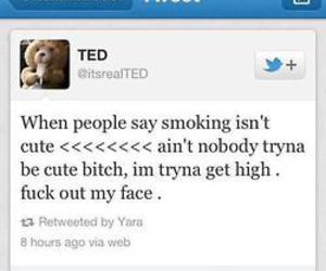 TED, high, and smoke image