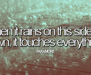 music, tumblr, and when it rains image