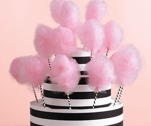 cotton candy, candy, and cake image