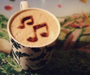 coffee and music image