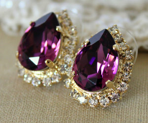 bling bling, purple, and violet image
