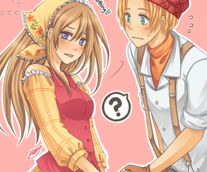 ash, harvest moon, and tale of two towns image