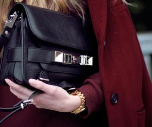 fashion, bag, and blonde image