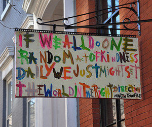 kindness and sign image