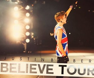 justin bieber, believe tour, and believe image