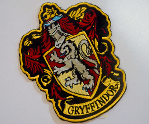 gryffindor, harry potter, and rowling image
