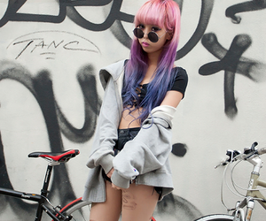 grunge, pastel hair, and juria nakagawa image