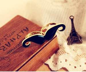 mustache and love image