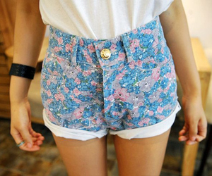 fashion, floral, and retro image