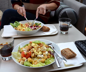 salad, food, and delicious image