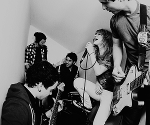 paramore, hayley williams, and josh farro image