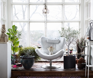 decor, lovely, and white image