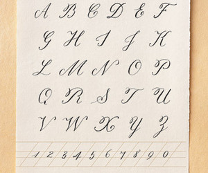 alphabet, calligraphy, and letters image