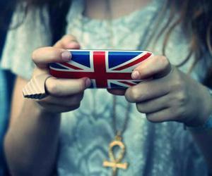 england, phone, and london image