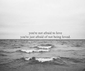 quotes, love, and afraid image