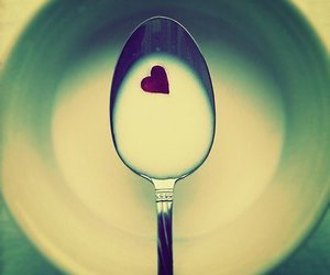 heart and milk image