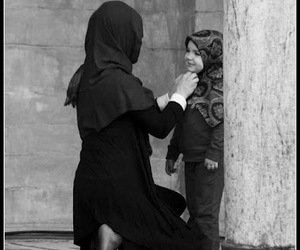 islam, hijab, and mother image