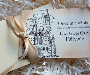 love, fairytale, and castle image