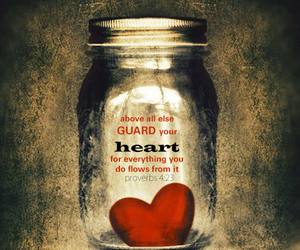 heart, proverbs, and guarded image