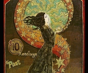psychic, fortune, and stars image