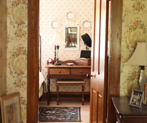 decor, dressing table, and interior image