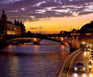city, beautiful, and bridge image
