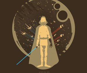 draw, picture, and star wars image