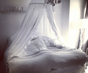 bed, Dream, and fluffy image