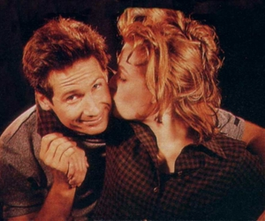 david duchovny, gillian anderson, and mulder image