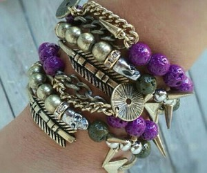 accessories, bracelet, and bracelets image