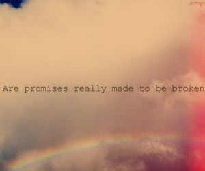 text, promise, and broken image