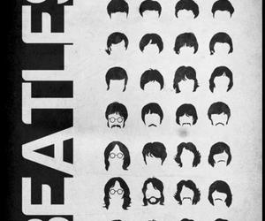 beatles, the beatles, and hair image