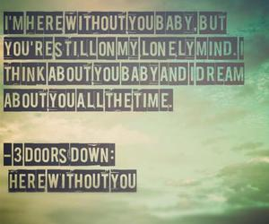 3 doors down, quote, and Lyrics image