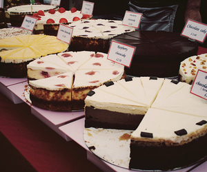 cake, food, and cheesecake image